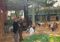 restaurace u stromu na olšanech v praze by josef multrus