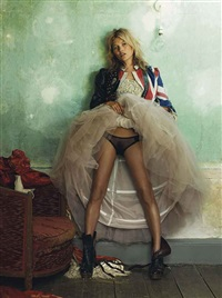 kate moss, for british vogue, october (from: the kate moss portfolio) by mario testino