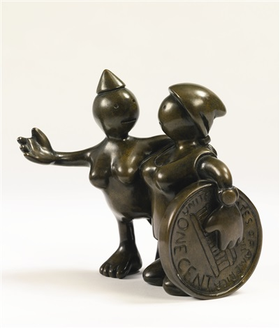 radical and worker by tom otterness