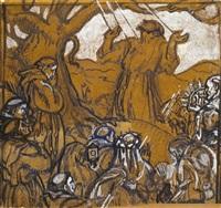 saint françois recevant les stigmates by maurice denis