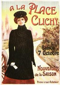 a la place clichy (poster) by lem