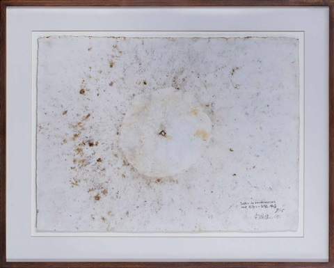 project for extraterrestrials no. 9: fetus movement ii (in 3 parts) by cai guo-qiang