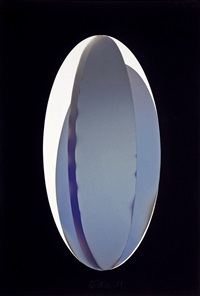 elbkin 2, constructed vapor drawing by larry bell
