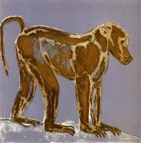 baboon by elisabeth frink
