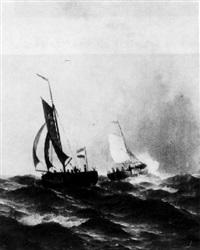 bateaux de pêche au large by albert halle