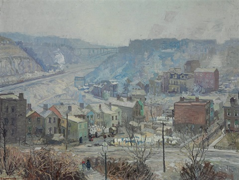 panther hollow pittsburgh by edward willis redfield