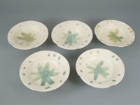bowls (set of 5) by kitaoji rosanjin