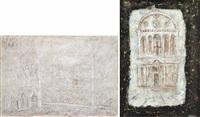 coreografia; facciata di chiesa (2 works) by giorgio valenzin