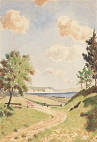 path to the shore by louis michel eilshemius
