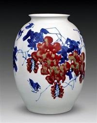叶张红绿团春风 by yu donghua