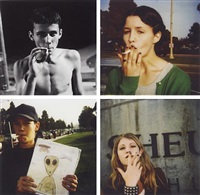teenage smokers (24 works) by ed templeton