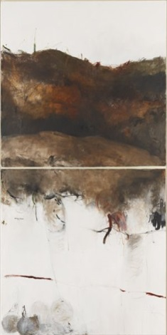 untitled diptych by farideh lashai
