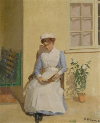 the nurse by harold gilman
