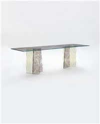 unique prototype crossing table by patricia urquiola