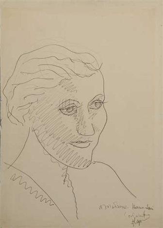 portrait de maria lani by fernand léger