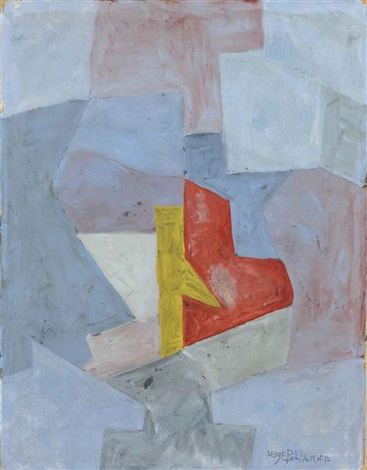 composition abstraite by serge poliakoff