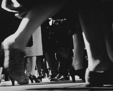 running legs forty second street new york by lisette model
