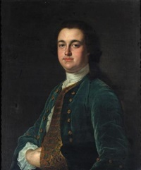 portrait of a gentleman (sir thomas hesketh?) by henry pickering
