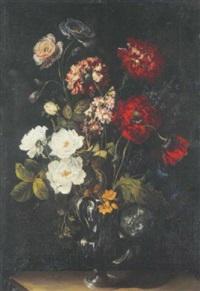 fleurs dans un vase en verre by benito espinos