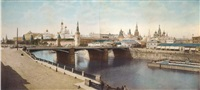 moscow panorama (in 2 parts) by joseph daziaro