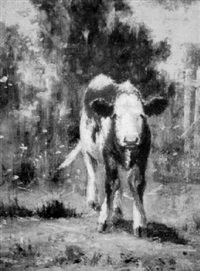 calf by wilbur h. lansil