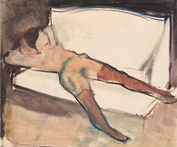 Nude Nud By Corneliu Baba On Artnet (despre oameni sau despre corpul lor) fără nici un veșmânt, complet dezbrăcat, gol. artnet