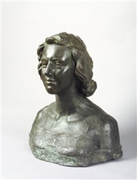 bust of brenda charles by jerome connor