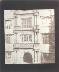 the tower of orders, bodleian library, oxford by william henry fox talbot
