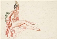 experiment in flippancy, no 2 by william russell flint