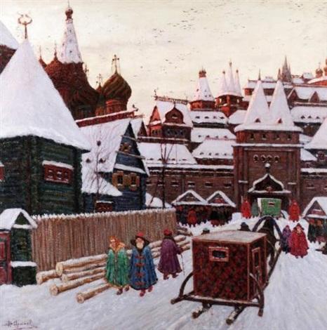 russian citadel by vladimir nikolaevitch aralov