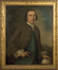 portrait of a ship master, a member of the parker family by joseph badger
