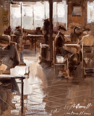 interior de café by jaume queralt