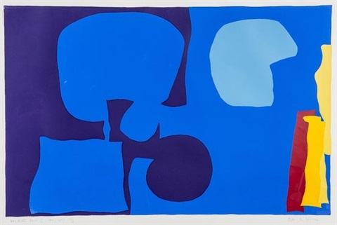 winchester tower ii by patrick heron