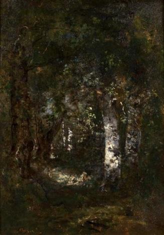 eclaircie dans la forêt de fontainebleau by narcisse virgile diaz de la peña