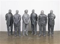 untitled (six figures) by juan muñoz