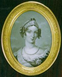 portrait de l'impératrice marie-louise by louise girard