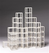 open cube structure by sol lewitt