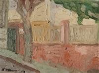 muro rosa by alfredo de simone