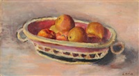 pommes au panier ovale by abram adolphe milich