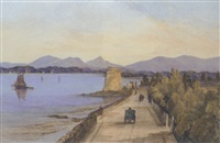 strand road near sandymount, dublin by thomas lindsay