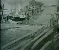 provincetown pier by john rettig
