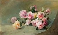nature morte aux fleurs by louis anquetin
