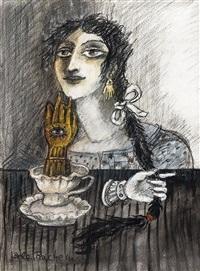 ohne titel (frauenporträt) by bele bachem