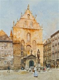 kirchplatz by franz kopallik