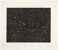 untitled (galaxy) by vija celmins