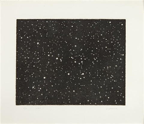 untitled galaxy by vija celmins