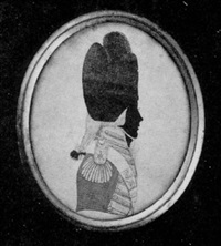 captain george crawford, of the 110th foot, in plumed bicorn hat, scarlet coat with silver braided yellow facings by john buncombe