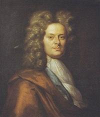 portrait d'homme by richard (risaert van) bleeck
