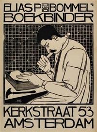 elias p. van bommel boekbinder by theodorus molkenboer