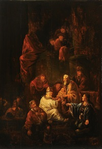 the curcumcision of christ by benjamin gerritsz cuyp